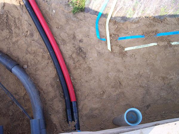 MSH-Rohrverlegung, Trassen-Warnband