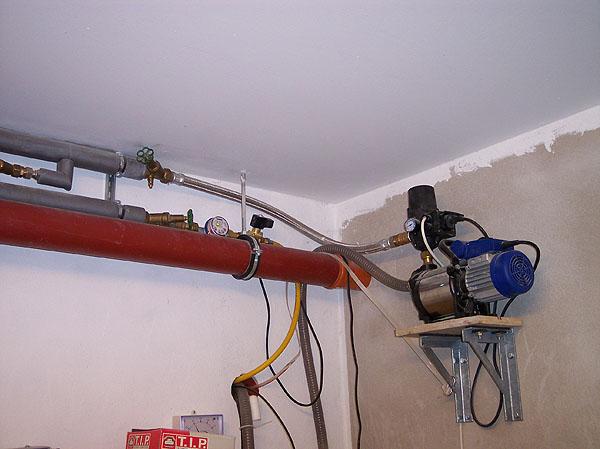 Pumpen, Zisternen, Wasseranschlüsse