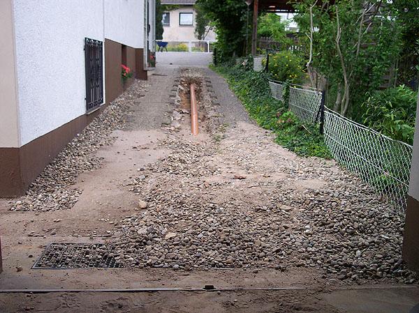 Beseitigung Überschwemmungsschäden