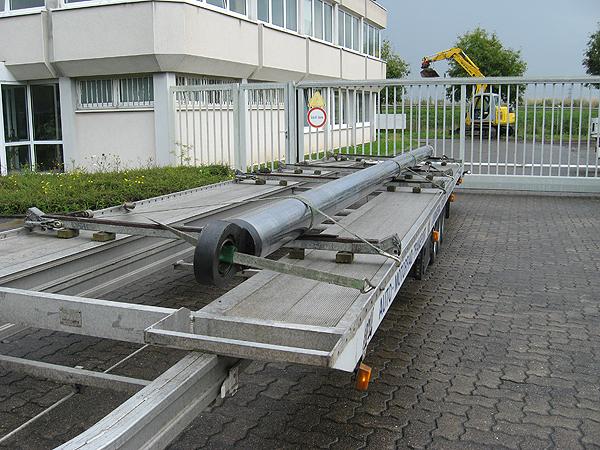 Eiltransport-Langmaterial