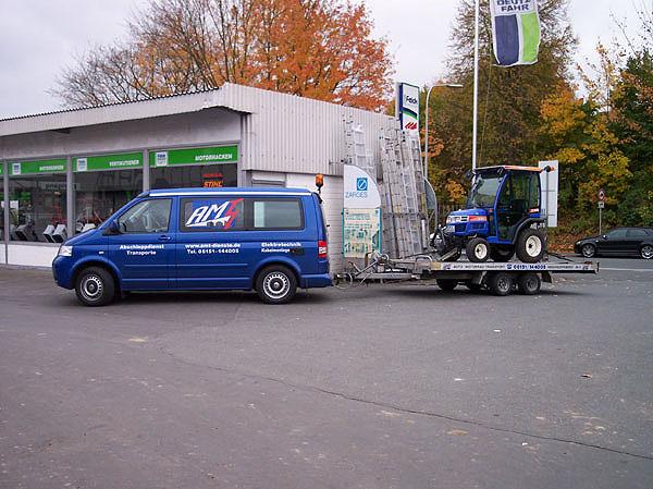 Maschinen-Transport